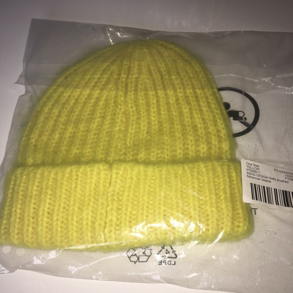 89d17467a8b ASOS DESIGN fluffy brushed fisherman beanie